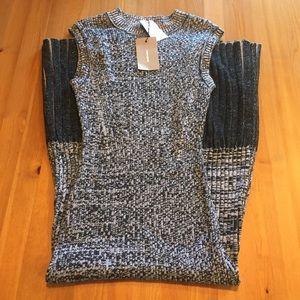 NWT Rachel Comey Ribbed Knit Bodycon Midi Dress
